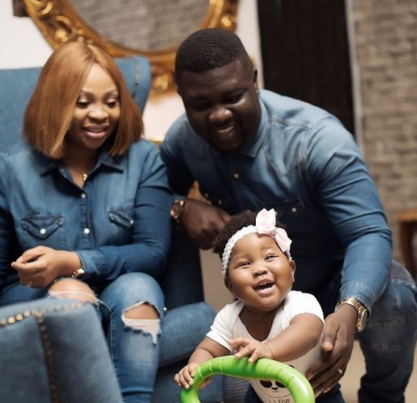 BN Living Sweet Spot Seyi Law and his Daughters Adorable New Photos 1 - Wawu!! Comedian Seyilaw Rents Billboard For His Daughter, Tiwa For Her First Birthday (Photos)