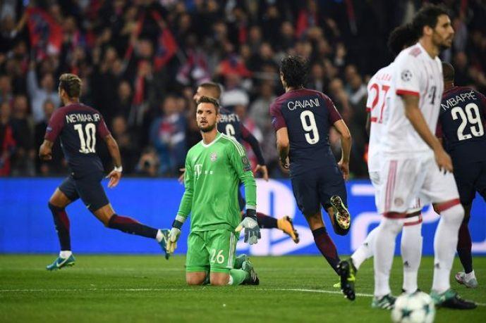 Bayern Munichs German goalkeeper Sven U - Champions League:- PSG 3 – 0 Bayern Munich (See All Goals Highlight)