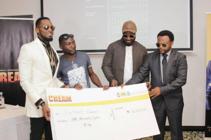 CREAM6 700x467 - D'banj Gives Out Million In Naira To Winners As Cream Platform Celebrates 1 Year Anniversary (See Photos)