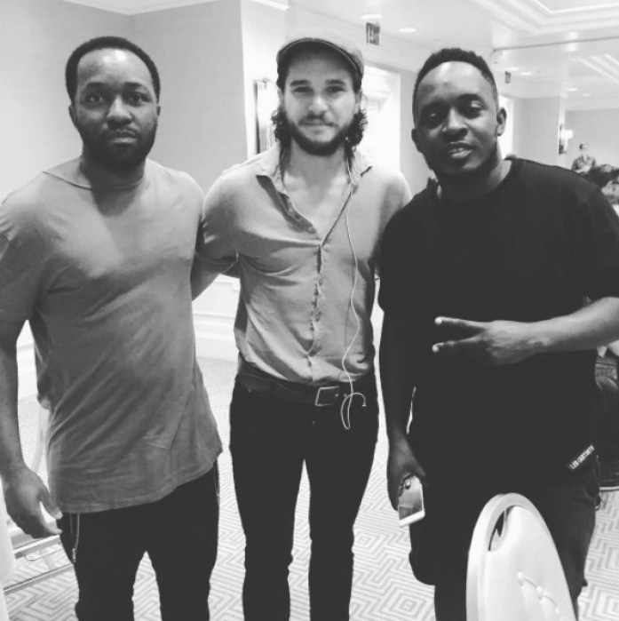 MI2 - MI Abaga Spotted With Jon Snow Of Game Of Thrones (Pictures)