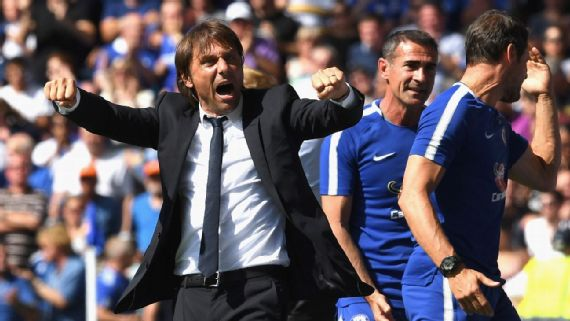 conte 5 - WOW!! See How Chelsea Boss Conte Helped Spartak Moscow Draw With Liverpool In The Champions League