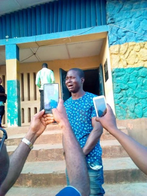 driver 700x933 - Driver Bursts Into Tears After Being Paraded For Raping A Female Student (Photo)