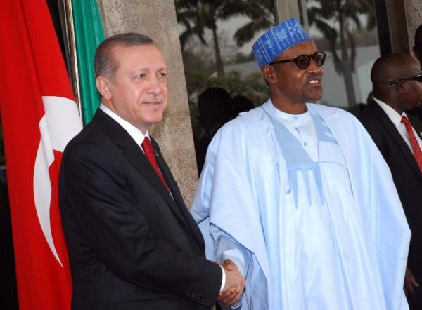 erdogan in nigeria 1 - Good News: Turkey Agrees To Help Stop Importation Of Pump Actions Rifles To Nigeria