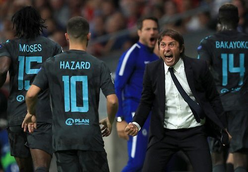 haz 1 - Chelsea vs Mancity!! Conte Warns Hazard To Repeat Performance Against Atletico Madrid