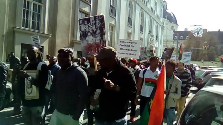 ipob1 2 - Biafra: Group Fires Back At US, Insists IPOB, Nnamdi Kanu Are Terrorists