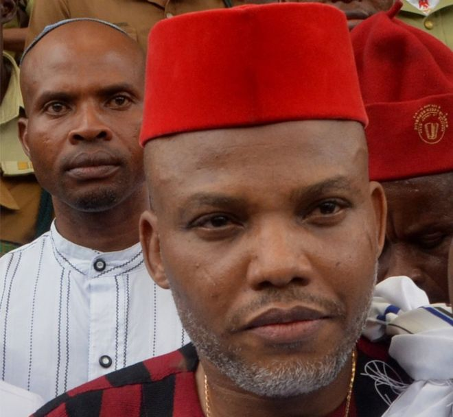 "nnamdi - ""Release Nnamdi Kanu's Corpse If You Have Killed Him""- Kanu's Brother Tells Army"