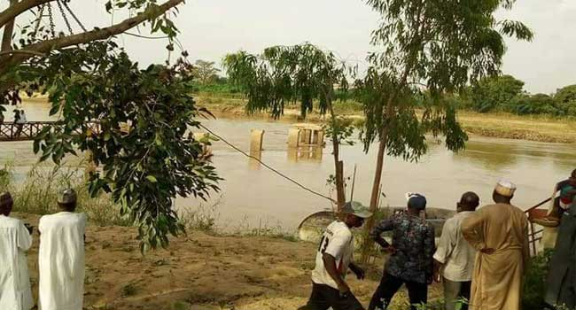 kd river 10 - Update: Two Bodies of Students Recovered And Three Still Missing In Kaduna Excursion Boat Mishap