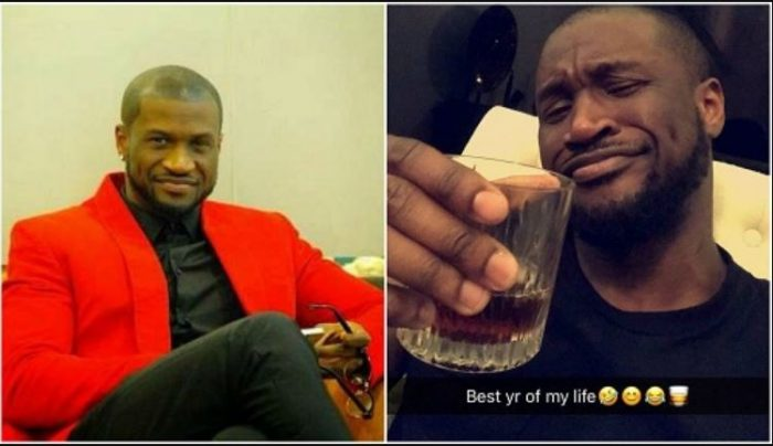 "peter 700x404 - ""Best Year Of My Life"" – Peter Okoye Says As He Shares New Photo"