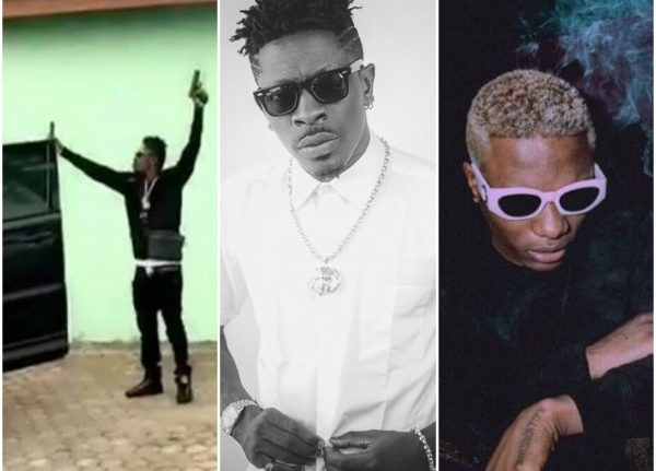 Image result for Wizkid Shatta Wale's threat
