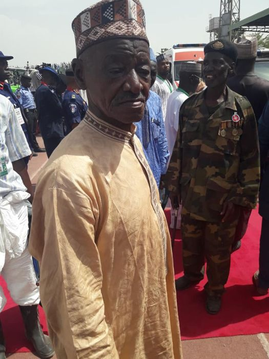 Meet Malam Ali Maiggo The84-Year-Old Soldier Who Served With Buhari In The Army