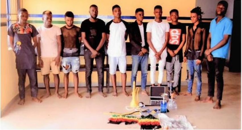 , The 57 Suspected Homosexuals Arrested In Lagos on the 29th and Granted Bail, Naijasee