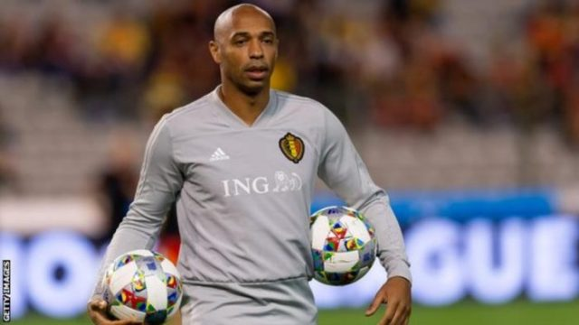 Ex Arsenal Striker Thierry Henry Gets New Job