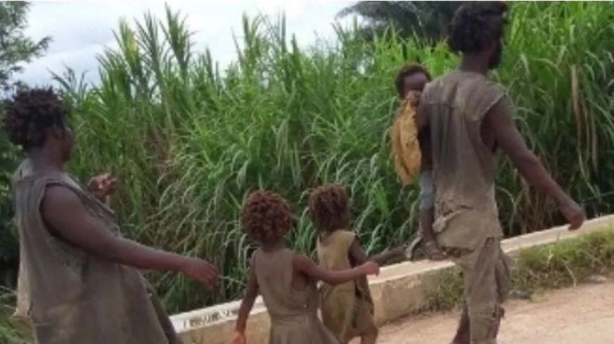 TOO BAD: See Photo Of Family Of 5 Battling Mental Illness In Cross River