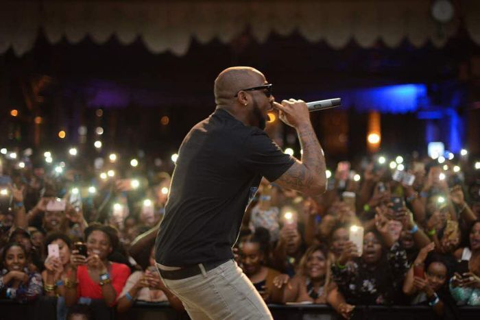 Image result for davido performance