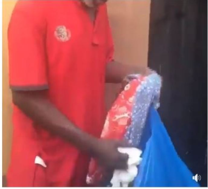 Aged Man Arrested After Stealing Bras And Panties In Lagos (Photos) 2
