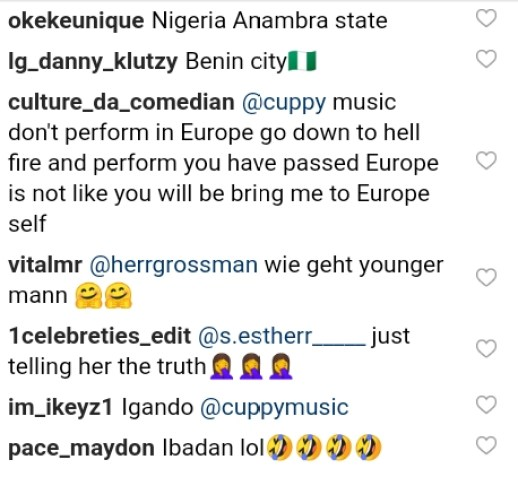 Fans Drop Savage Replies After DJ Cuppy Asked For Location For Next Performance 3