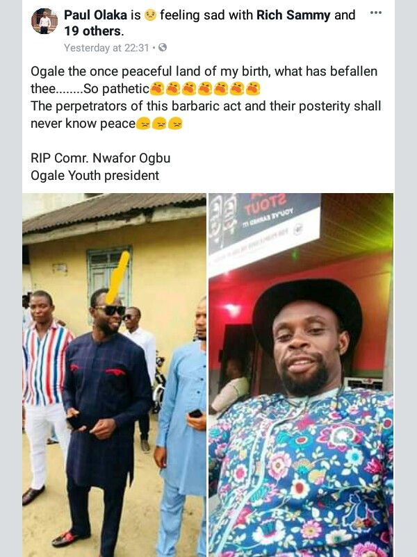 Police Gun Down Suspected Killers Of Youth President In Rivers State 2