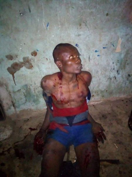 EVIL!!! Thieves Set Building On Fire In Umuahia After Failed Attempts To Break-In 3