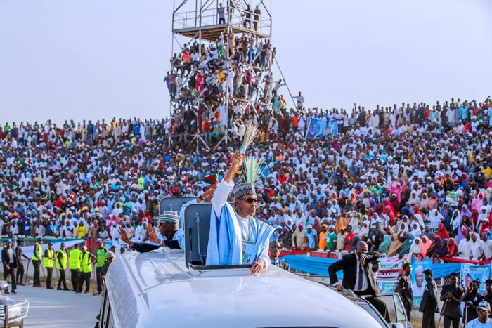 Image result for bUHARI WINS IN LAGOS