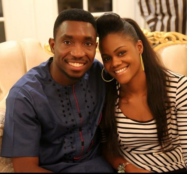 Image result for timi dakolo and his wife's image