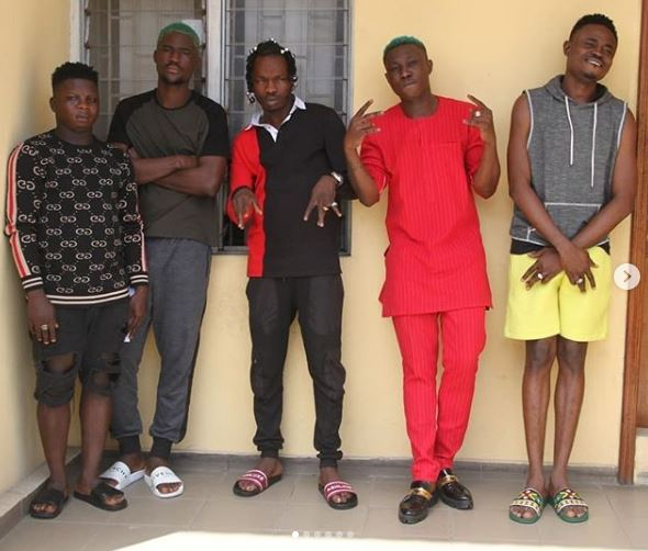 MUG SHOT: EFCC Finally Posts Picture Of Naira Marley, Zlatan Ibile, Rahman Jago and Others