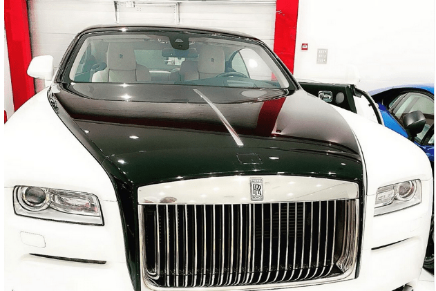 Dbanj Acquires A Brand New Rolls Royce For His Birthday