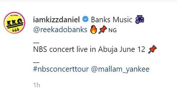 Kizz Daniel Settles Long Term Rift With Reekado Banks
