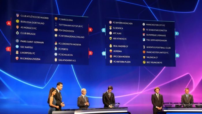 OUT NOW!! UEFA Champions League 2019/20 Draws Released (See