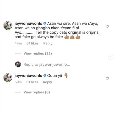"Jaywon Shades Zlatan For 'Copying' His ""This Year"" Song, Zlatan Replies"