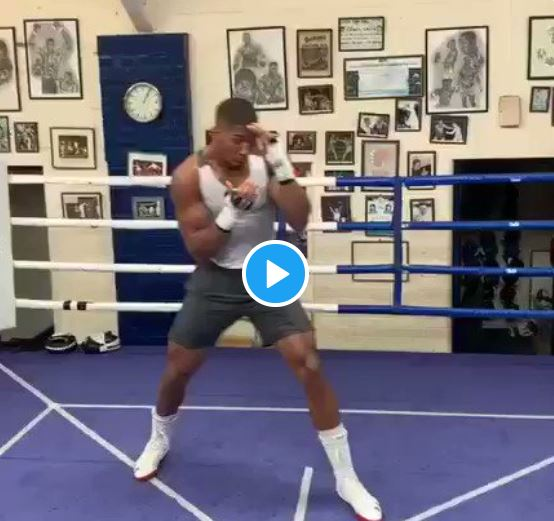 """""""He Who Laughs Last Laughs Hardest"""" – Anthony Joshua Trains Ahead Of Andy Rematch"""