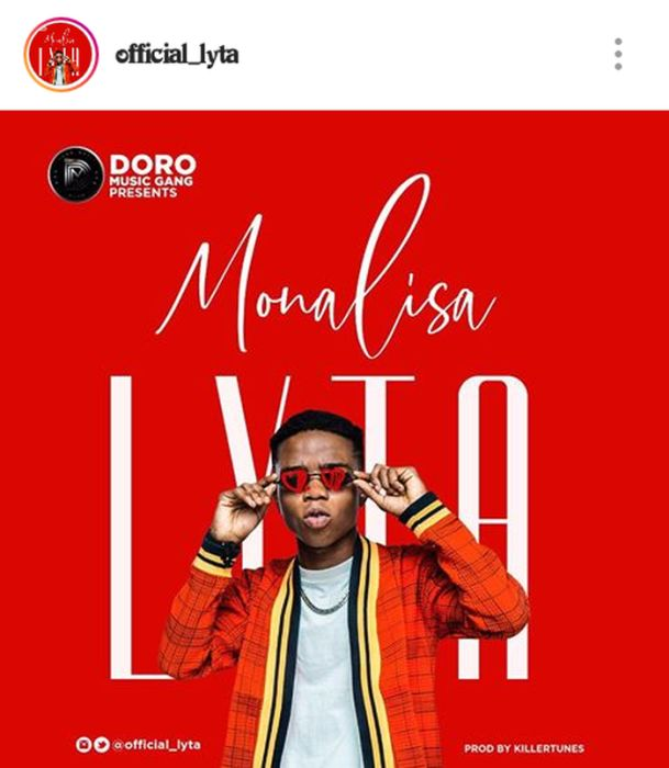 Former YBNL act, Lyta Joins Flaunts Another Music Label, Doro Music (See Details)