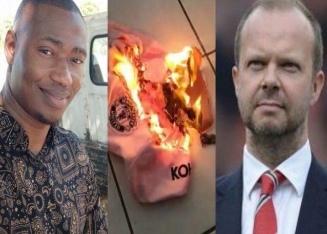 Heartbroken Man Utd Fan Burns His Jersey After Transfer Deadline Day
