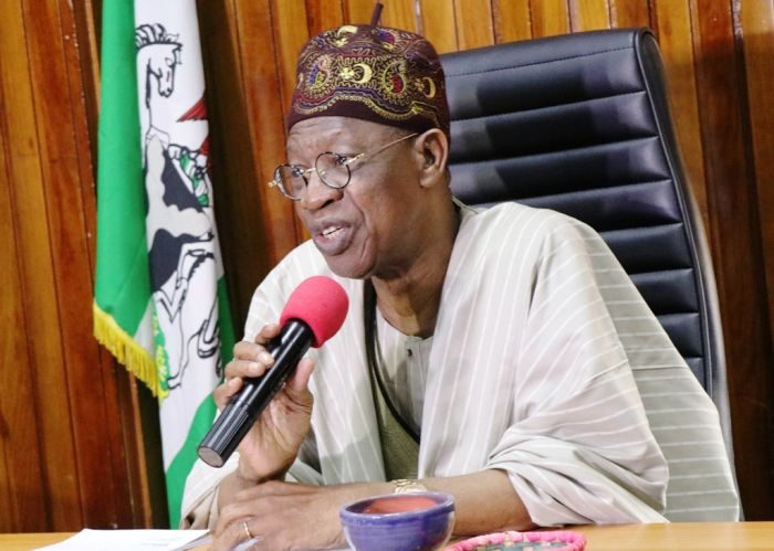 Lazy Nigerian Youths: Many Nigerians Can't Sing National Anthem, Recite Pledge - Lai Mohammed 2