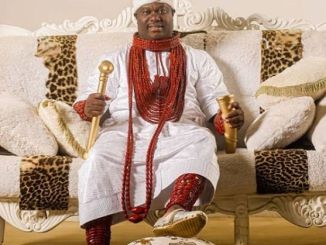 "Ooni Of Ife Looks Astonishing As He Rocks Official Traditional Outfit To Celebrate ""Olojo Festival"""