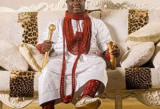 """Ooni Of Ife Looks Astonishing As He Rocks Official Traditional Outfit To Celebrate """"Olojo Festival"""""""