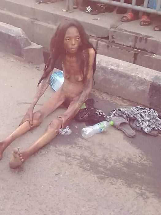 SHOCKING!!! See The Terrible Thing That Happened To A Lady After Been Dropped By A Car In Ajah (Photos) 5