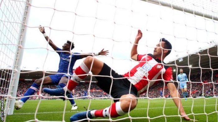 Abraham Score, As Chelsea Beat Southampton (1- 4) goals 2
