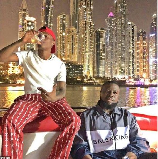 BIG BOYS THING!! Wizkid And Hushpuppi Party Together In Dubai ...