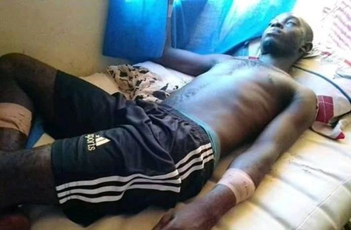Image result for Man attacks his younger brother with machete in Abuja for having a secret affair with his wife