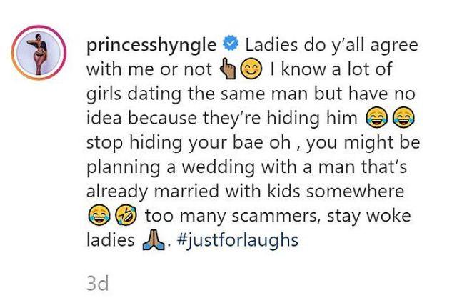 """""""Why I Broke Up With My Boyfriend"""" – Princess Shyngle Reveals"""