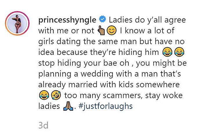 """""""Why I Broke Up With My Boyfriend"""" – Princess Shyngle Reveals 4"""