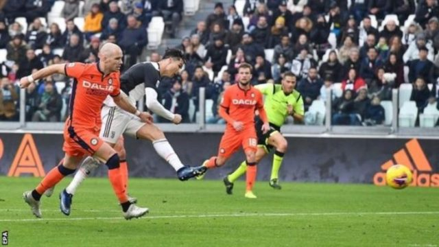 [Goals Highlight] Juventus 3 – 1 Udinese (Watch Here) 1