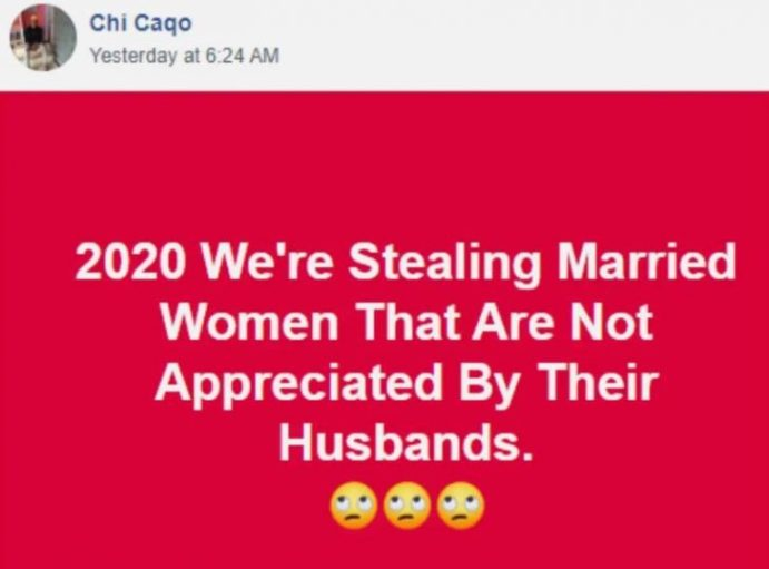 We're Stealing Married Women In 2020' – Nigerian Man Shares His New Year Resolution 3