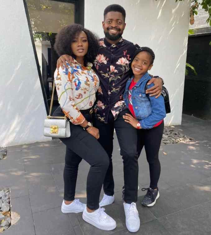 Basketmouth Shares Adorable Photo With His Wife And Daughter 1