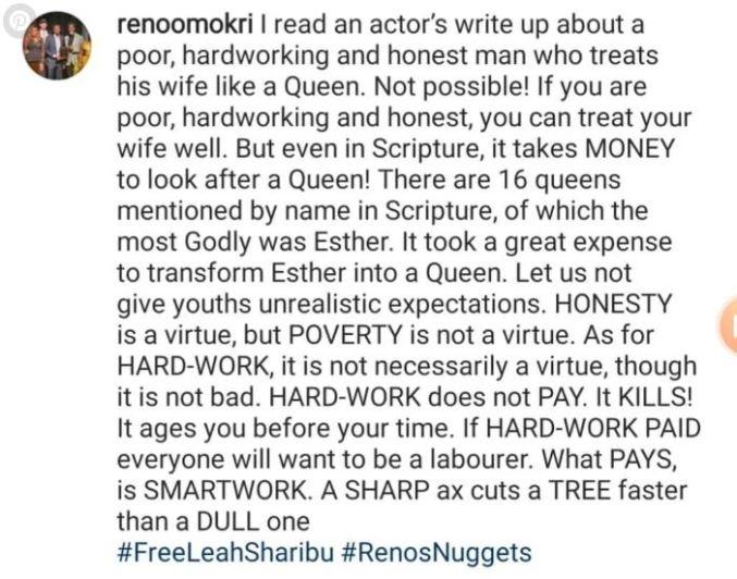 Hardwork Does not Pay, It Kills –Reno Omokri 1