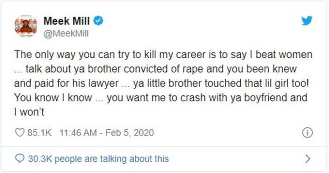 Meek Mill And Nicky Minaj In War Of Words As They Both Expose Dirty Secrets 4