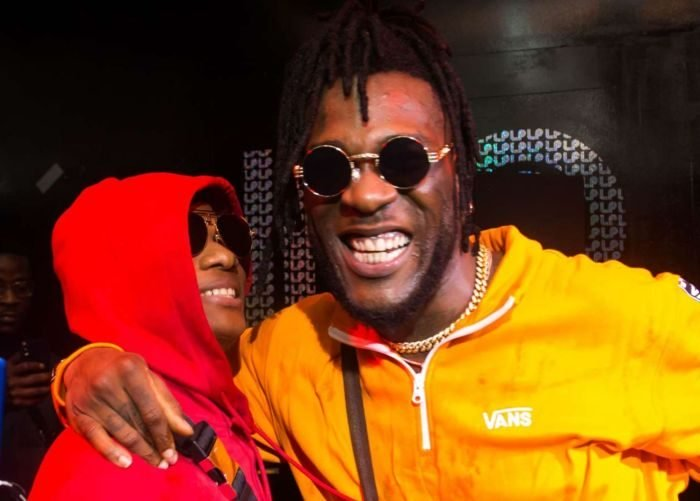 See How Burna Boy Was Hyped During Wizkid During Battle Against Jamaican Singer, Vybez Kartel (Watch Video)