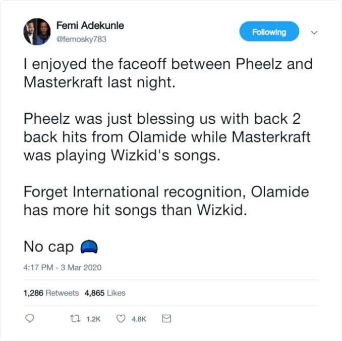 OLAMIDE Has More Hit Songs Than WIZKID (See This) 1