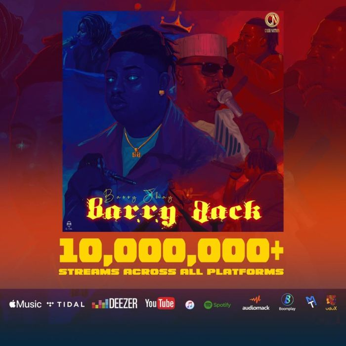 Barr Jhay's Trends On Twitter As His Ep 'Barry Back' Hits 10 Million Streams On All Platforms,