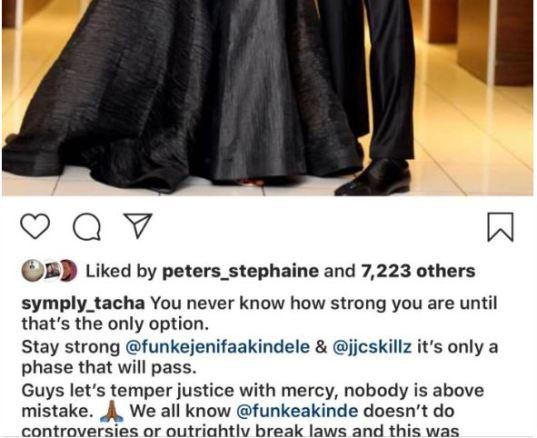 Tacha Begs Nigerians To Stop Trolling Funke Akindele (Photo) 1